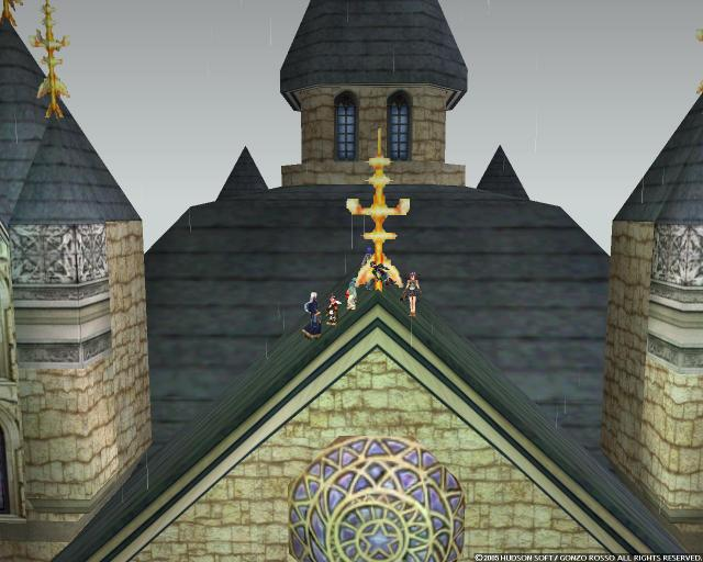 最後は大聖堂の屋根